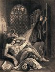 461px-Frontispiece_to_Frankenstein_1831