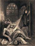 461px-Frontispiece_to_Frankenstein_1831