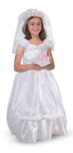 Bride Role Play costume by Melissa and Doug