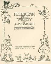 Peter And Wendy, the edition I read as a child, and still read