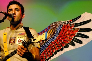 Sufjan Stevens, wearing them well