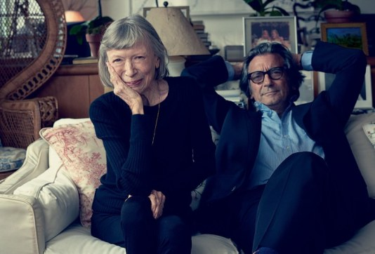 Joan Didion and Griffin Dunne