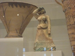 Bronze female figure, Late Minoan I, ca. 1600-1450 B.C., Metropolitan Museum of Art, NY