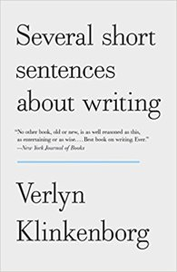 several short sentences about writing--book cover