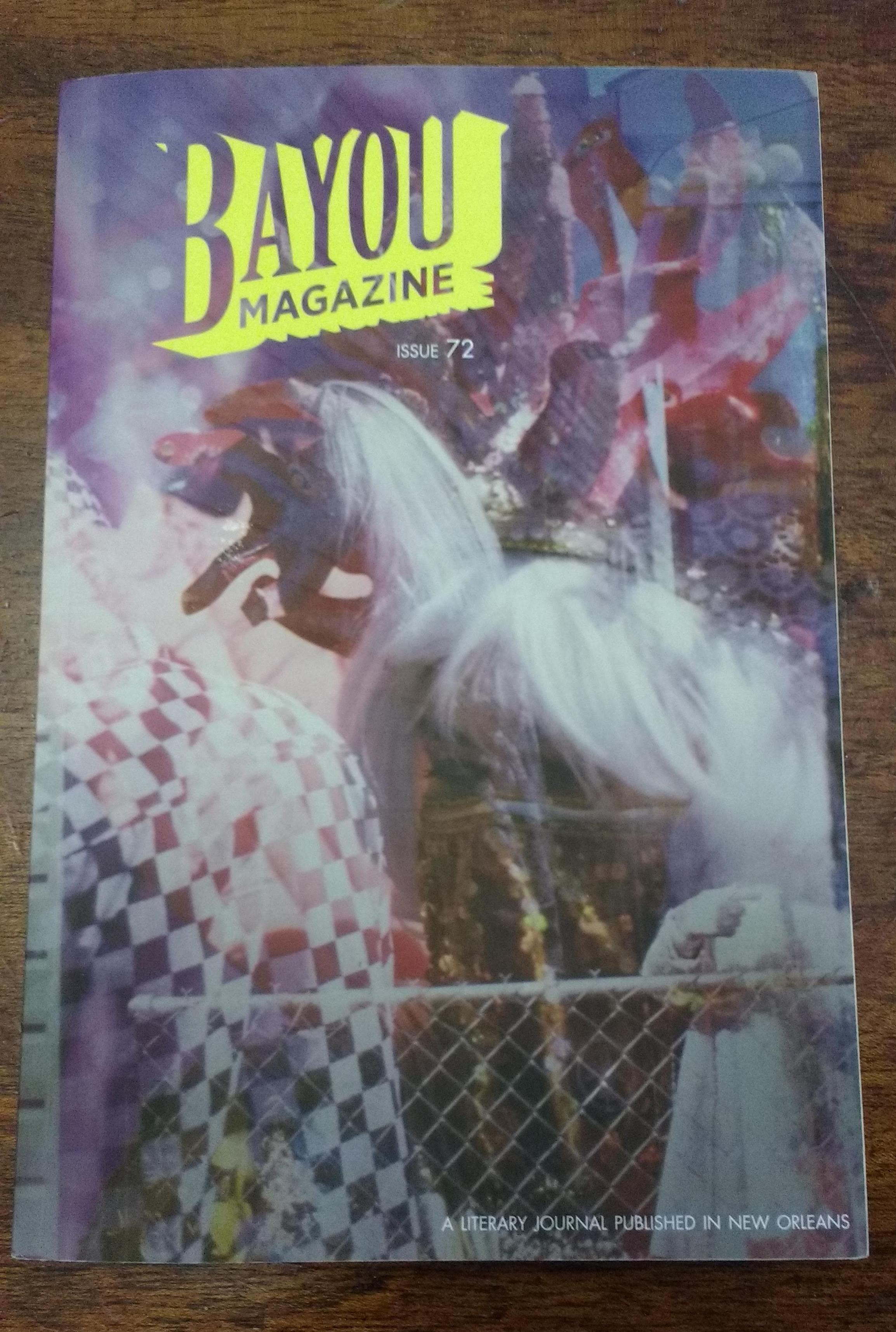 Cover of Bayou Magazine #72